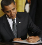 Image of Obama signs executive order promoting industrial energy efficiency article